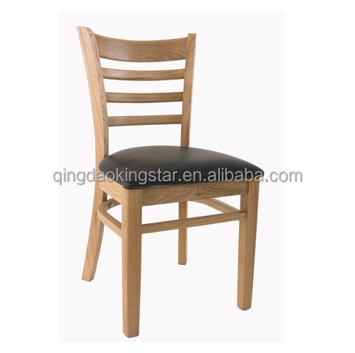 ks w100 ladder back cheap wood restaurant chair