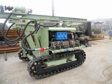 high efficiency hydraulic crawler DTH blasting hole drilling rig CTQ-D100YA2