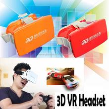 Fresnel lenses VR 3D Glasses No pupil distance adjustment virtual reality 3d video glasses