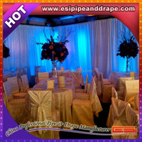 ESI Special offer cheap pipe and drapes room divider wedding tent drapes for weddings