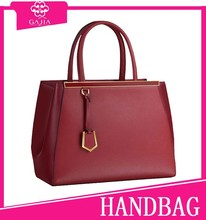 64.5USD in stock OEM production genuine leather ladies fashion hand bag for formal women lady