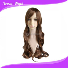 synthetic lace front wigs with bangs SW-331