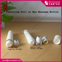 plastic vibrating roll on bottle acrylic containers with lids
