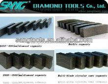 Metal bond diamond segment for granite