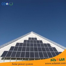 High efficiency grid tie solar system with 10kw solar panel system