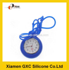 new product waterproof silicon rubber quartz nurse watch with long straps