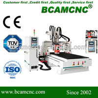 Top quality! automated wood router BCM1325D furniture, wooden door engraving machine
