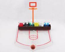 basketball shot drinking game set