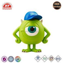 3D monster university plastic famous cartoon figure