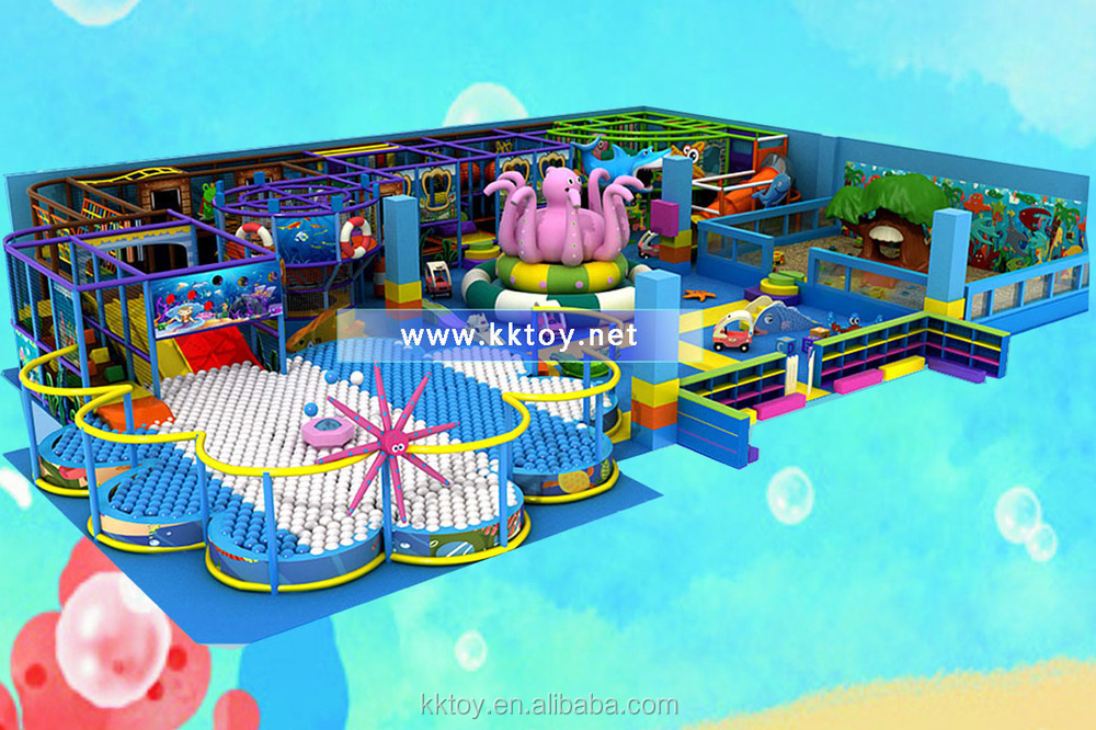 Indoor structures design for kids playing indoor ground for Indoor play structure prices