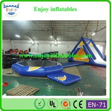 2015 Enjoy Sea World Inflatable, water fountain project, inflatable floating aqua park