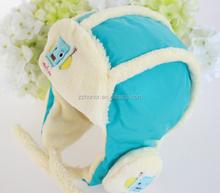 Baby flying helmet, winter baby warm cap, wholesale cap for newborn baby
