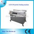 Máquina de encadernação automática lcd-550