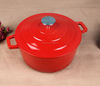 Kitchen Utensils Gloss Enameled Cookware/Light Weight Cast Iron Stew Pots/Casserole/Soup Pots