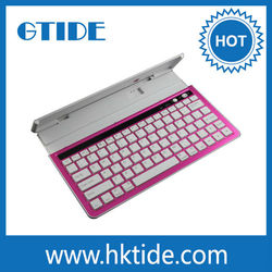 Aluminum Bluetooth Tablet Universal Case Keyboard 10.1 With 60 Degree Angles