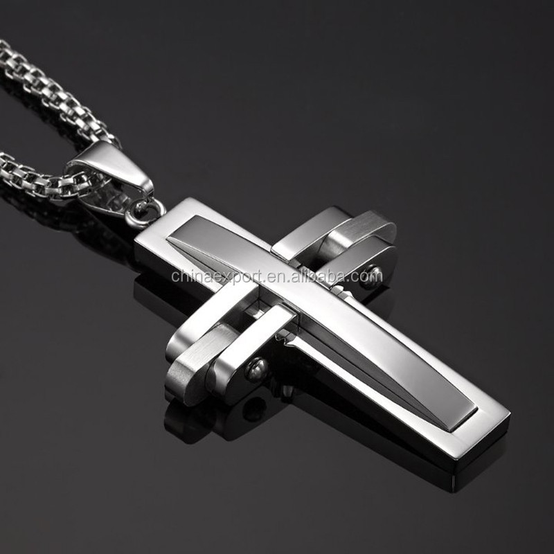 Mens Stainless-Steel-Silver-Cross-Pendant-Chain-Necklace.jpg