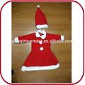 2015 OEM santa claus traje de la navidad para las niñas PGKC-2607