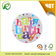 Paper Tableware Happy Birthday Wholesale Party Plates