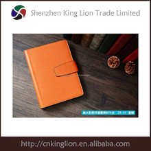 Vintage leather notebook/dairy book with embossd logo
