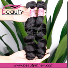 best saeller wholesale 100% malaysian loose wave virgin hair weaving weft wavy hair
