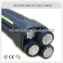 low voltage ABC Cable professional supplier/overhead power cable