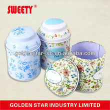 tin box with sliding lid