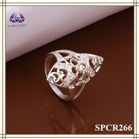 2015 Trends Hollow Carving Ladies Long Finger Ring For Ladies