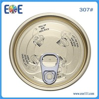 307 tuna fish can lid 83mm easy open tin can lid