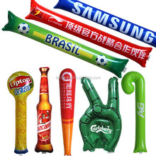 (TWA-002) Promotional inflatable cheering stick/inflatable clap stick