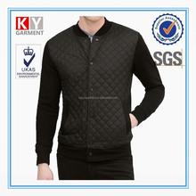 Необычные черный стежка шва полиэстер мужчин классический стиль coat
