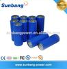 SUNB high capacity 3.7v 4500mah used car battery ,lithium rechargeable 3.7v battery 4500mah,26650 li-ion batteries
