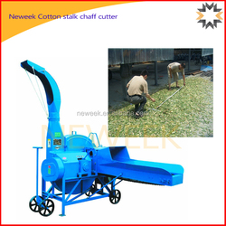 Neweek agricultural large silage green grass cotton stalk chaff cutter