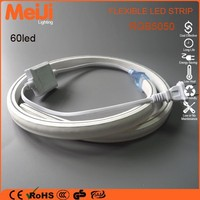 Factory Directly Price 5050rgb led strip light waterproof, Flexible rgb color changing led strip color box packing