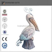 hotsale polyresin pelican statues
