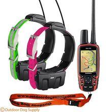 ORIGINAL FOR BRAND NEW Garmin 320 & 2 DC50 Collars Dog GPS Tracking System Combo