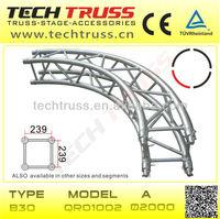 Aluminium Circle Truss , Square Circle Truss , Curve Truss Design
