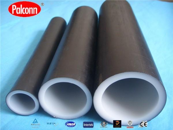 Palconn anti uv plastic pipe black pex plastic pipe for Plastic water pipe pex