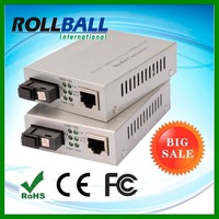 High performance nice price rj45 10/100/1000M optic media converter with sfp X ports