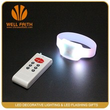 500M RGB radio remote controlled led bracelet for party