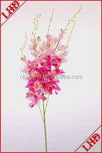 5 branches artificial bush flower hot selling bush flowers for decoration