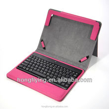 Sexy red keyboard protective case for iPad 5