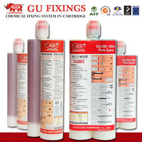Quick pure epoxy adhesive glue with high durability