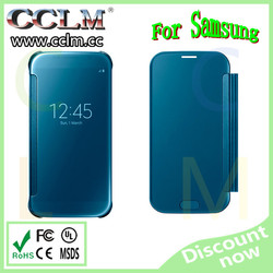 for samsung Galaxy S6 Clear View Cover original blue clear view cover for galaxy s6