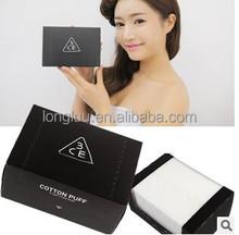 Korea 3ce 80 pieces of cotton with makeup cotton 100% cotton