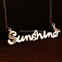 party supply low cost blinking cheap custom name design necklace - OBI Supplier--BSCI audited by TUV