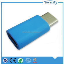 China Shenzhen Lianfali High Speed OTG Data Converter Cable Type C for U Flash Disk for Card reader