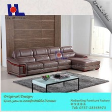 #2218 New model sofa sets pictures / comfortable living room leather sofa on sale
