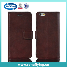 pc pu leather flip case for iphone 6s and others running models with card slot
