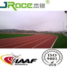 IAAF Polyurethane synthetic rubber running tracks paint