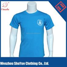 Promotional soft cotton screen printing custom tshirt